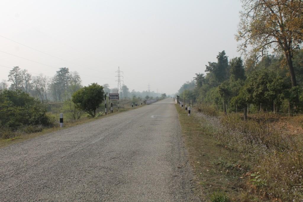 """Über den """"Highway"""" ging es für uns am ersten Samstag mit dem Motorrad los."""
