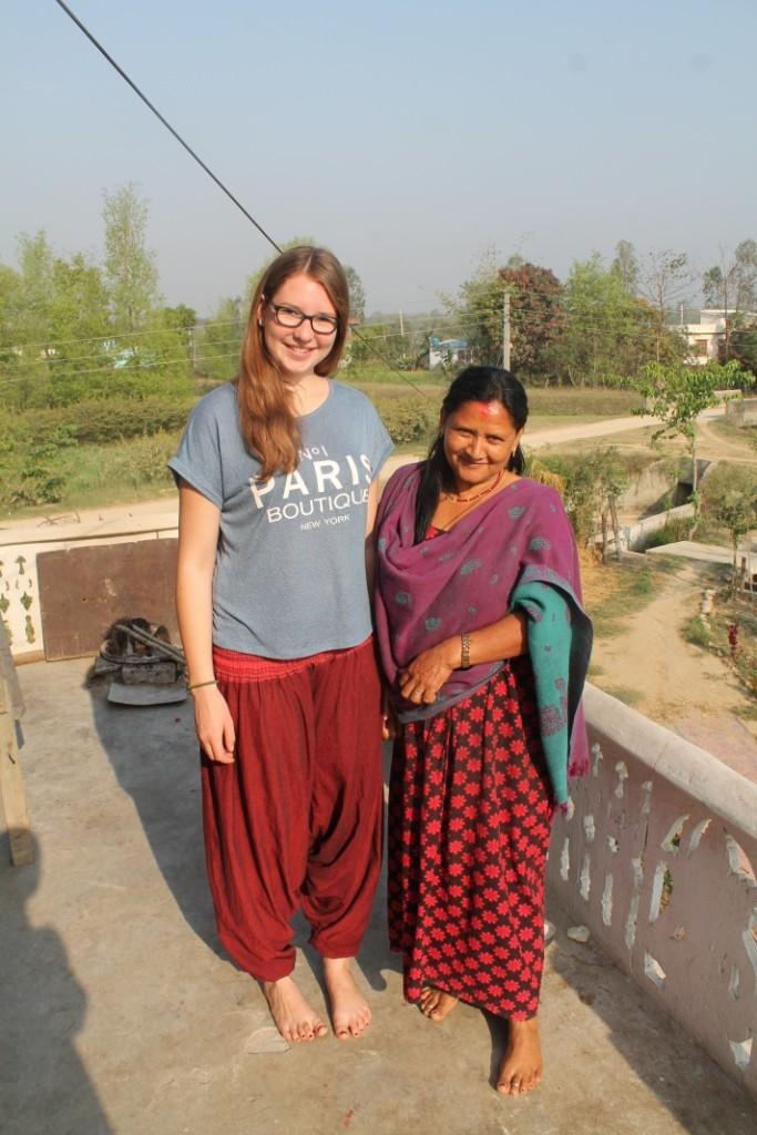 Die Nepalesinnen sind nicht gerade die größten;)